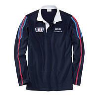 Рубашка-поло с длинным рукавом Porsche Martini Rugby Shirt Dark Blue