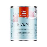 Лак для мебели  Кива глянцевый Тиккурила ( Kiva Tikkurila ) 0,9 л