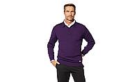 Мужской свитер BMW Men's Knitted Polo Sweater Purple