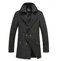 Мужское осеннее пальто Geben.Мужской стильный пиджак пальто