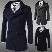 Мужское осеннее пальто. Мужской осенний пиджак. Модель М32