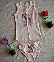 Комплект нижнего белья для девочки Пони р 92
