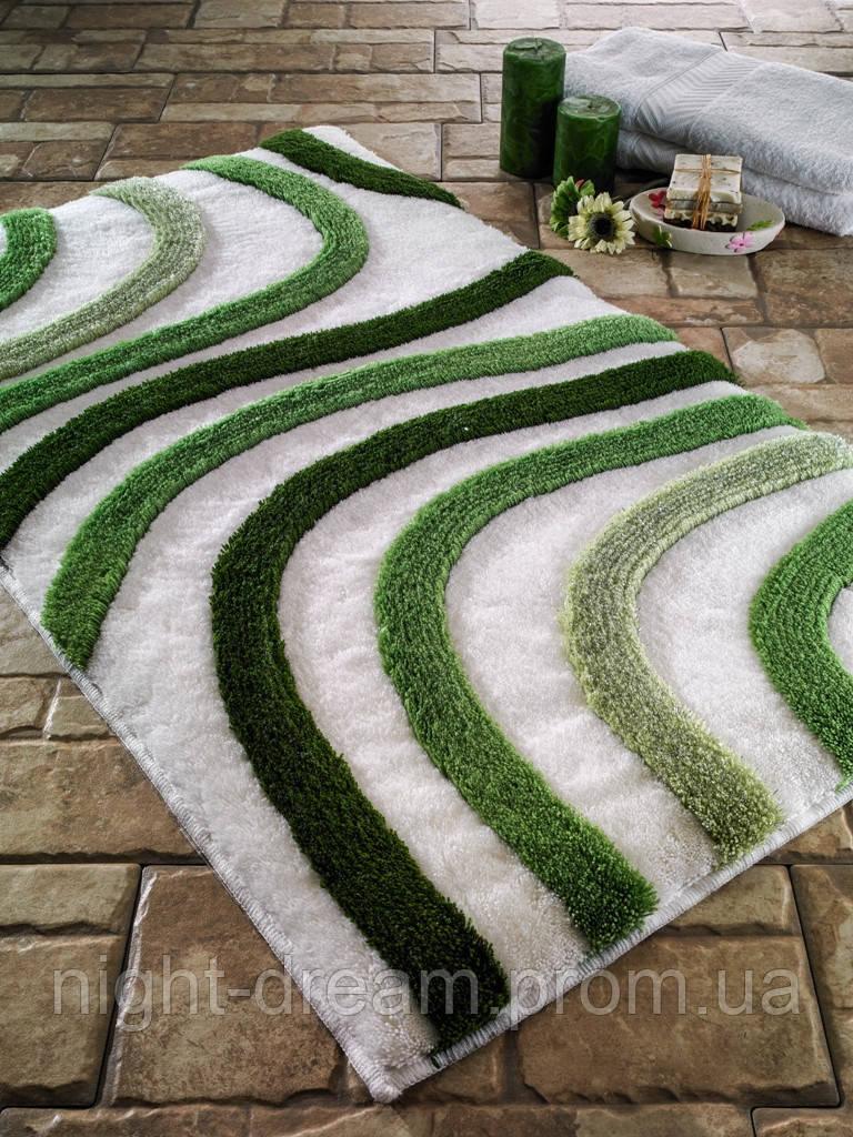 Коврик для ванной 55х60 Confetti Elite Sardes Green (Yesil)