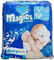 Подгузник Magics Premium Джуниор 5 (27 шт) 11-25кг