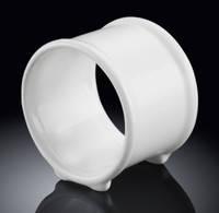 Кольцо для салфеток Wilmax фарфоровое на стойках 10 см