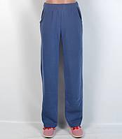 Брюки женские байковые зимние  - синие  (8309)