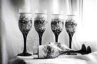 Набор бокалов «Черно-белые»