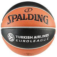 Мяч баскетбольний Spalding TF1000 EUROLEAGUE 7.