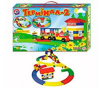 Детский конструктор железная дорога, Термінал - 2 ТехноК 1240