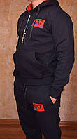 Мужской утепленный спортивный костюм Armani