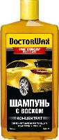Автомобильный шампунь с воском (концентрат) DoctorWax DW 8133 / 600 мл SMART WASH & WAX
