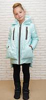 Детская куртка-парка, зима и деми; размеры от 86 до 152
