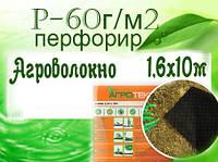 Агроволокно 60UV черный перфорир.(1,6х10м) (Агротекс)