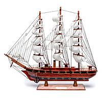 Модель корабля парусного судна из дерева 50 см S26963