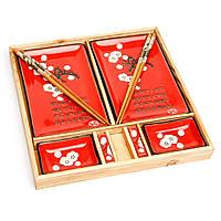 Подарочный набор для суши из десяти предметов S150-1