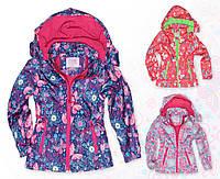 Осенняя куртка для девочки на флисе