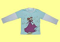 Детскоя блузка с двойным рукавом для девочки