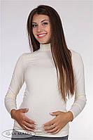 """Классический гольф для беременных """"Natali"""", молочный"""