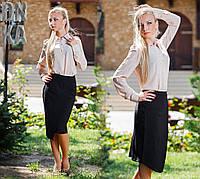 Женская блузка с длинными рукавами