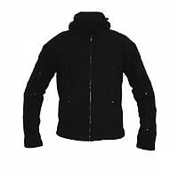 Куртка флисовая с капюшоном Black, фото 1