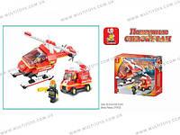 Конструктор Пожарные спасатели 211 деталей