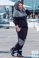 Женский спорт костюм больших размеров