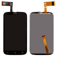 Оригинальный LCD дисплейный модуль на HTC desire v t328w в зборе с сенсорной панелью (тачскрином)