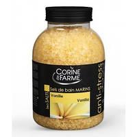 Соль морская для ванн Ваниль 1,3kg. - Анти-стресс Corine de Farme