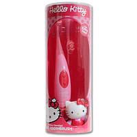 DR. FRESH Hello Kitty Зубная щетка звуковая в овальной коробке с запасной насадкой