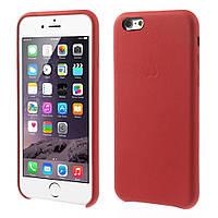 Чехол накладка Apple Case для Apple iPhone 6 6S 4.7 красный