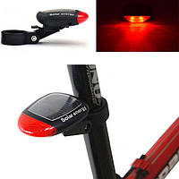 Велофонарь на солнечной батарее Led фонарь на велосипед Задний фонарь на велосипед Велосипед Аксессуары