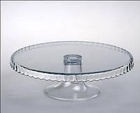 Подставка Pasabahce Patisseri для торта на ножке 28 см. 98259