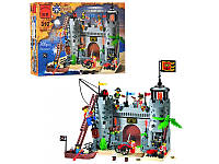 """Конструктор """"Пиратский замок"""" 366 деталей Brick-310"""