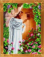 Набор для вышивания бисером Иисус стучится в дверь