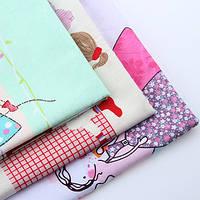 """Набор кусочков ткани для пэчворка """"наши принцесы"""""""