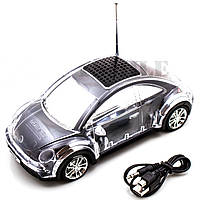 Портативная колонка-автомобиль WS-256 Volkswagen