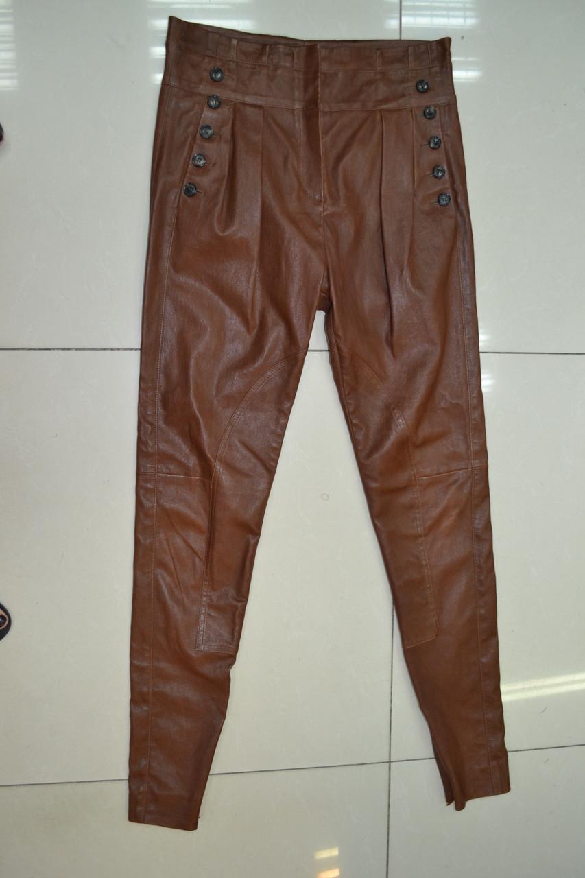 Кожаные брюки женские доставка