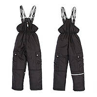 Зимний качественный полукомбинезон для девочки с карманами, аналог Lenne
