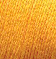 Шерстяная пряжа BEBE WOOL ALIZE  (желтый)