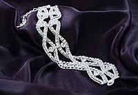 Шикарный свадебный, женский браслет.