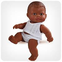 Кукла серии «Пупсы-малыши» - Младенец мулат в трусах и майке