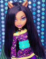 Кукла Monster High Клодин Вульф (Clawdeen Wolf) вторая волна базовых кукол Монстер Хай Школа монстров