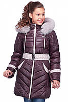 Зимнее детское  пальто на синтепоне Дженни  нью вери (Nui Very) купить в Украине по низким ценам