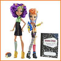 Набор кукол Monster High Клодин и Хоулин Вульф (Clawdeen & Howleen Wolf) Монстр Хай