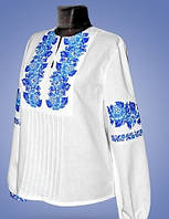 Женская вышитая сорочка с длинным рукавом