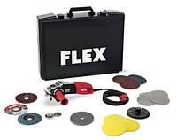 Угловая шлифмашина inoxflex LE147125 набор в чемодане