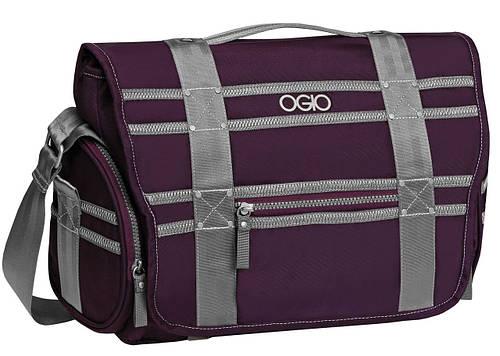 Стильная вместительная сумка молодежная OGIO Monaco Messenger 114010.622 Purple