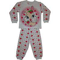 Пижама на девочку интерлок  Зайка (86-104)