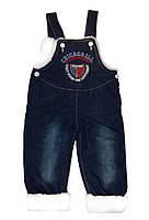 Комбинезон джинсовый утепленный