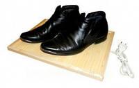 Электрическая деревянная подставка Трио электрическая сушилка для обуви